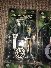 Dc Blackest Night Black Lantern Terra Scar Flash Hawkman Superman Indigo Figures