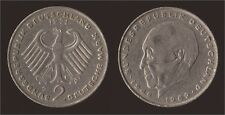 GERMANIA GERMANY 2 MARK 1971 D KONRAD ADENAUER