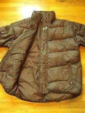 OAKLEY GOOSEDOWN PUFFER WINTER SKI SNOW BROWN JACKET COAT SIZE M RN# 96548