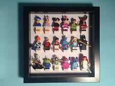 LEGO Minifigure Figure Custom Display Case Frame Storage Disney Series for Full
