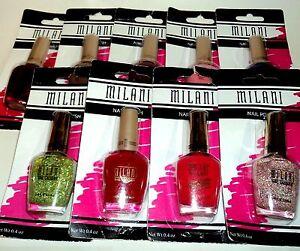 1 MILANI Nail Polish nail Color nail Enamel Asst3 New In Packages