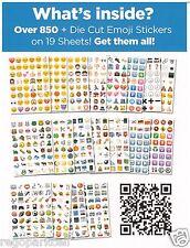 NEW Original Emoji Sticker Pack 912 Die Cut Stickers iPhone Instagram Twitter