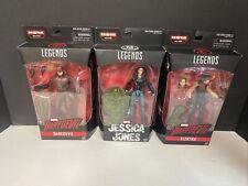Marvel Legends Netflix Lot JESSICA JONES Daredevil Elektra Sealed BAF ManThing