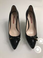 prada Patent Leather pumps With Bow 38.5