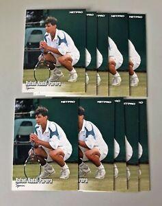 (10) 2003 Netpro Rafael Rafa Nadal RC ROOKIE LOT #70 TRUE ROOKIE QTY