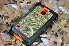 For Samsung Galaxy S5 Case Blazed Camouflage Realtree & Belt Clip