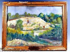 Wilhelm runze Frankfurt 1. WK #3 pinturas acuarela Echelle roye france 1915