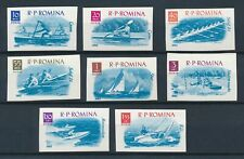 [349041] Romania 1962 good set of stamps Imperf very fine Mnh