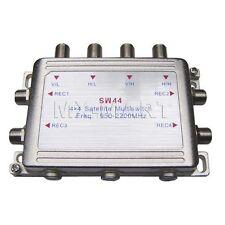 SW44 4X4 FOR DIRECTV SATELLITE MULTI-SWITCH MULTISWITCH