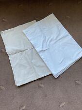 CHILDREN'S UNISEX MOTHERCARE 2 X FLAT SHEET COT BED NURSERY BEDDING