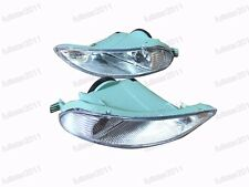 1Pair Clear Bumper Driving Fog Lights Lamps For Toyota Corolla 2005-2008