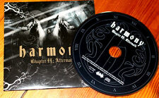 """Harmony """"Chapter II: Aftermath"""", PROMO IN CARD-COVER, prog power metal, NUOVO! RAR"""