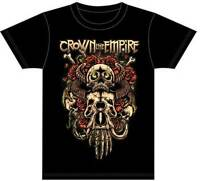 CROWN THE EMPIRE - Sacrifice - T SHIRT S-M-L-XL-2XL Brand New Official T Shirt