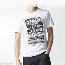 Adidas Originals ICONIC SHOE POSTER TEE 100% ORGANIC T Shirt superstar~Mens sz L