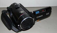 Canon Vixia HF21 A Handheld HD Video Camcorder & memory card NO CHARGER