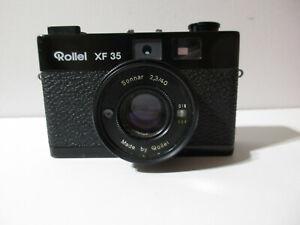 Vintage Rollei XF 35 Camera w Sonnar 2,3/40
