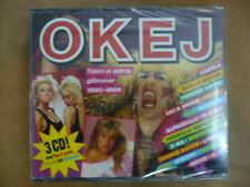 OKEJ: Tiden vi aldrig glömmer 1980-1989 KISS, Dio, Tears For Fears, A-ha 3CD NEW