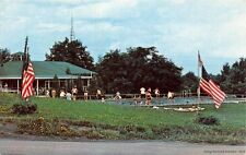 VORHEESVILLE NY 1957 Swimming Pool @ Camp Pinacle, a Christian Camp VINTAGE GEM+