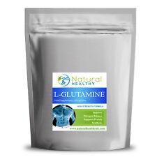 60 L-GLUTAMINE, Aide Maintien Cell Volume et Hydratation - Énergie Booster
