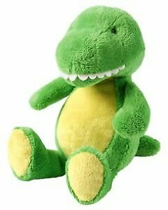 NWT Carters Green And Yellow Plush Dinosaur Dino Baby Toy Stuffed Animal 67192