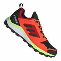 Trail Shoes Running Trainers Mens Adidas Terrex Agravic TR Red