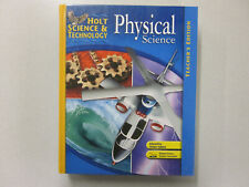 Holt Science & Technology Physical Science Teacher's Edition NEW 0030457688