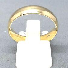 """STUNNING UNISEX 9CT YELLOW GOLD PLAIN """"WEDDING BAND"""" RING   SIZE """"V""""   1709"""