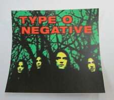 TYPE O NEGATIVE STICKER COLLECTiBLE RARE VINTAGE 90'S METAL LIVE  DECAL