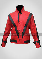 Michael Jackson Red Leather Thriller Jacket Replica