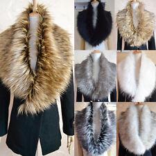 1pcs  Women Fashion Winter Warm Faux Fur Collar Scarf Shawl Wrap 7 Colours Hot