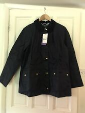 Barbour Ladies' Liberty Harriet Wax Jacket UK12 - Navy