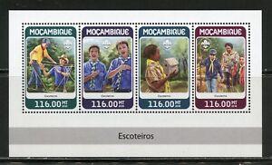 Mozambico 2018 Boy Scout Foglio come Nuovo Nh