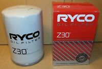 RYCO Z30 Oil Filter for Holden Six Cyl. & V8 EH to WB & Commodore VB VC VH VK VL