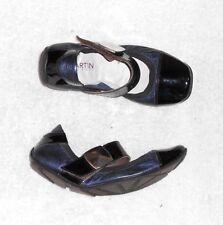 JB MARTIN ballerines cuir bleu irisé & verni noir P 38 TBE