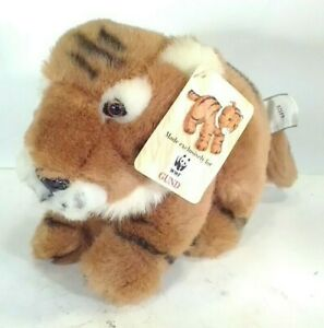 """Gund Bengal Tiger 10"""" Plush 44528 Made for WWF with hang tag"""