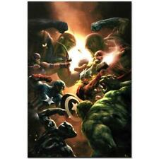 MARVEL Comics Limited Edition New Avengers (11) Numbered Canvas Art