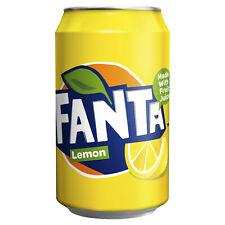 Fanta Lemon cans 24 x 330ml