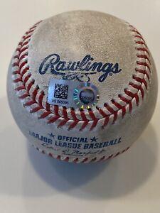 MLB Authenticated - Austin Nola 13th Career HOME RUN Off Dennis Santana