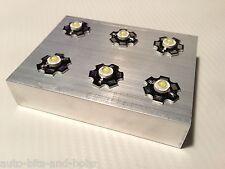 De aluminio del disipador de calor de 3w Led Acuario Marino Luz algas fregado, etc.. Reino Unido Stock