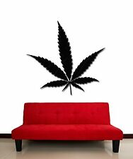 Wall Stickers Vinyl Decal Weed Grass Marihuana Funny Decor  (z2089)