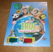 """Sammelalbum / Stickeralbum von Rewe """"Unsere Erde - Deine Abenteuer Weltreise"""""""