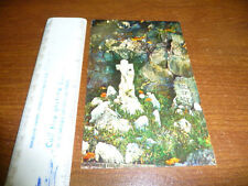 Ave Maria Grotto in Cullman Alabama postcard