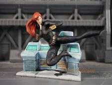 Cake Topper MARVEL SUPERHEROS Avengers Black Widow Toy Figure DIORAMA K1061_A