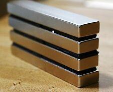 4 pcs/lot N52 100mm x 20mm x 10mm 100x20x10mm Neodymium Permanent Magnets