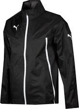 Adults Size XL Black Puma King Lightweight Shower Rain Jacket