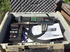 Testo 325M/XL Flue Gas Analyser Untested All There