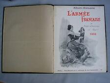 L'armée française - Annuaire de Beauvoir 1902 - Emplacement des troupes -