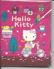 Sanrio Hello Kitty Sticky Notes In Folder Cupcakes