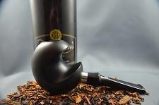 Chieftain's R. Wallenstein one finger Pfeife pipe pipa 9mm Filter schwarz matt