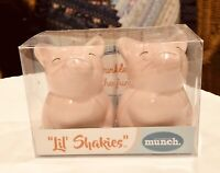Lil' Shakies Piggies Porcelain Salt & Pepper Shakers-New In Box! Great  Stuffers